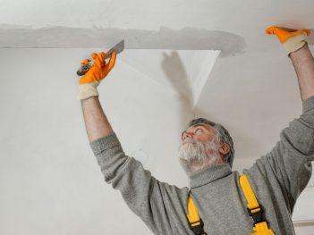 repair a ceiling