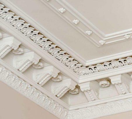 decorative cornice work