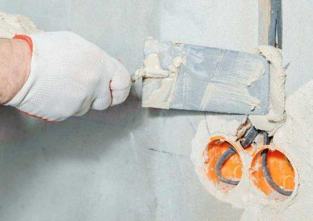 plaster wall repair